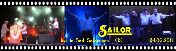 Click here for the new SAILOR concert photos and videos from Bad Salzungen